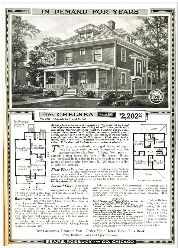 sears home, the chelsea, original, ad, nicole vidor, real estate, realtor, hudson ny events, livingston, for sale, home