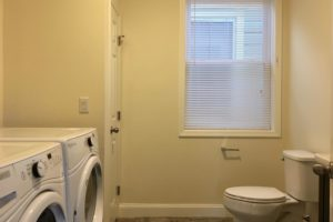 hudson, apartment, bathroom, laundry, washer, dryer, second floor, ny, new york, for rent, nicole vidor, real estate, realtor