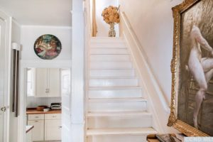 stairs, airy, bright, wood work, rossman avenue, craftsman home in hudson ny, for sale, hudson, new york, nicole vidor, real estate, realtor, homes for sale, houses for sale