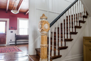 farmhouse, stairs, catskill, durham, ny, new york, for sale, nicole vidor, real estate, realtor