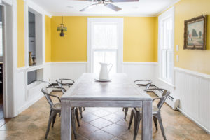 farmhouse, dining room, catskill, durham, ny, new york, for sale, nicole vidor, real estate, realtor