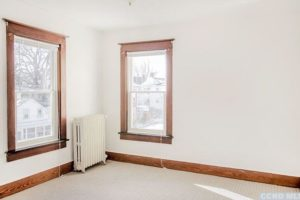 bedroom, light, white, renovated, apartment in hudson ny, new york, columbia county, for rent, nicole vidor, realtor, real estate, rental
