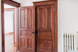 doors, wood work, wood floors, original, renovated, apartment in hudson ny, new york, columbia county, for rent, nicole vidor, realtor, real estate, rental
