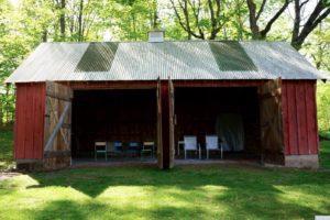 farmhouse summer rental, outside, barn, saugerties, new york, ny, catskill, for rent, rental, nicole vidor, real estate, realtor