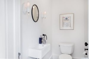 bathroom, white, bright, worth avenue, hudson, new york, ny, nicole vidor, real estate, realtor, home for sale, house for sale, hudson ny home with views