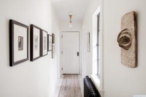 hallway, white, bright, large windows, worth avenue, hudson, new york, ny, nicole vidor, real estate, realtor, home for sale, house for sale, hudson ny home with views