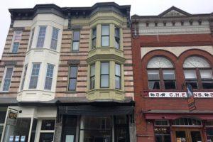 warren street, townhouse, exterior, bay windows, hudson, ny, for rent, rental, nicole vidor, real estate, realty, realtor