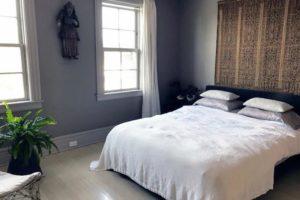 bedroom, wood floors, windows, warren street, hudson, ny, for rent, rental, nicole vidor, real estate, realty, realtor
