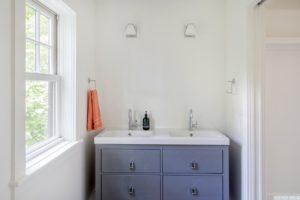 Renovated home, bathroom, closet, catskill, new york, nicole vidor, real estate, realtor
