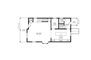 Renovated home, first floor, floor plan, layout, blueprint, catskill, new york, nicole vidor, real estate, realtor