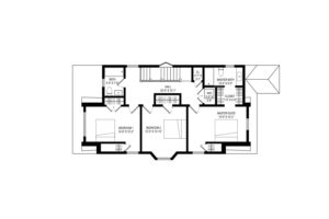 Renovated home, second floor, floor plan, layout, blueprint, catskill, new york, nicole vidor, real estate, realtor