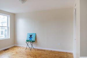 Cottage, bedroom, closet, wood floor, hudson, new york, nicole vidor, real estate, realtor