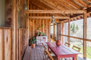 Milkweed Barn, Converted Barn, exterior, porch, wood siding, nicole vidor, real estate, realtor