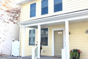 brand new home, state street, hudson, ny, exterior, porch, nicole vidor, realtor, real estate