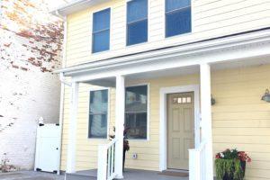 brand new home, state street, hudson, ny, exterior, porch, nicole vidor, realtor, real estate