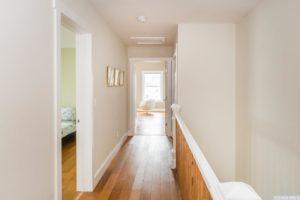 brand new home, upstairs hallway, wood floors, bedrooms, bright, nicole vidor, real estate, realtor