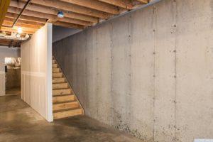 brand new home, basement, concrete floors, tall ceilings, bright, bonus space, nicole vidor, real estate, realtor