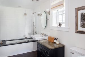 Greek Revival with Carriage House, home for sale, bathroom, tub, shower, nicole vidor, real estate, realtor