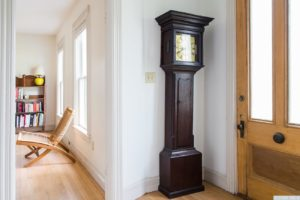 Victorian Home, Philmont NY, Home For Sale, entry, wood door, wood floors, nicole vidor, real estate, realtor