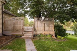 country farmhouse, exterior, deck, pond, mature trees, for rent, nicole vidor, real estate, realtor