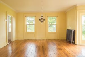 country farmhouse, interior, wood floors, living room, for rent, nicole vidor, real estate, realtor