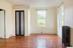 country farmhouse, interior, bedroom, closet, wood floors, for rent, nicole vidor, real estate, realtor