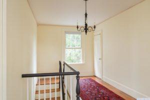 country farmhouse, interior, hallway, wood floors, for rent, nicole vidor, real estate, realtor