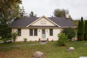 country farmhouse, exterior, optional cottage, clapboard siding, for rent, nicole vidor, real estate, realtor