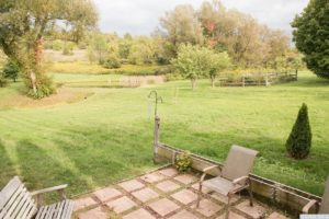 country farmhouse, outside, optional cottage, patio, views, pond, mature trees, for rent, nicole vidor, real estate, realtor