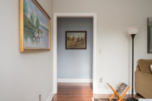 country cottage, interior, living room, fully furnished, crown molding, for rent, nicole vidor, realtor, real estate