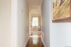 country cottage, interior, hallway, crown molding, for rent, nicole vidor, realtor, real estate