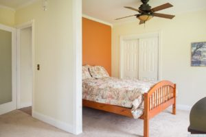 country cottage, interior, master bedroom, fully furnished, crown molding, for rent, nicole vidor, realtor, real estate