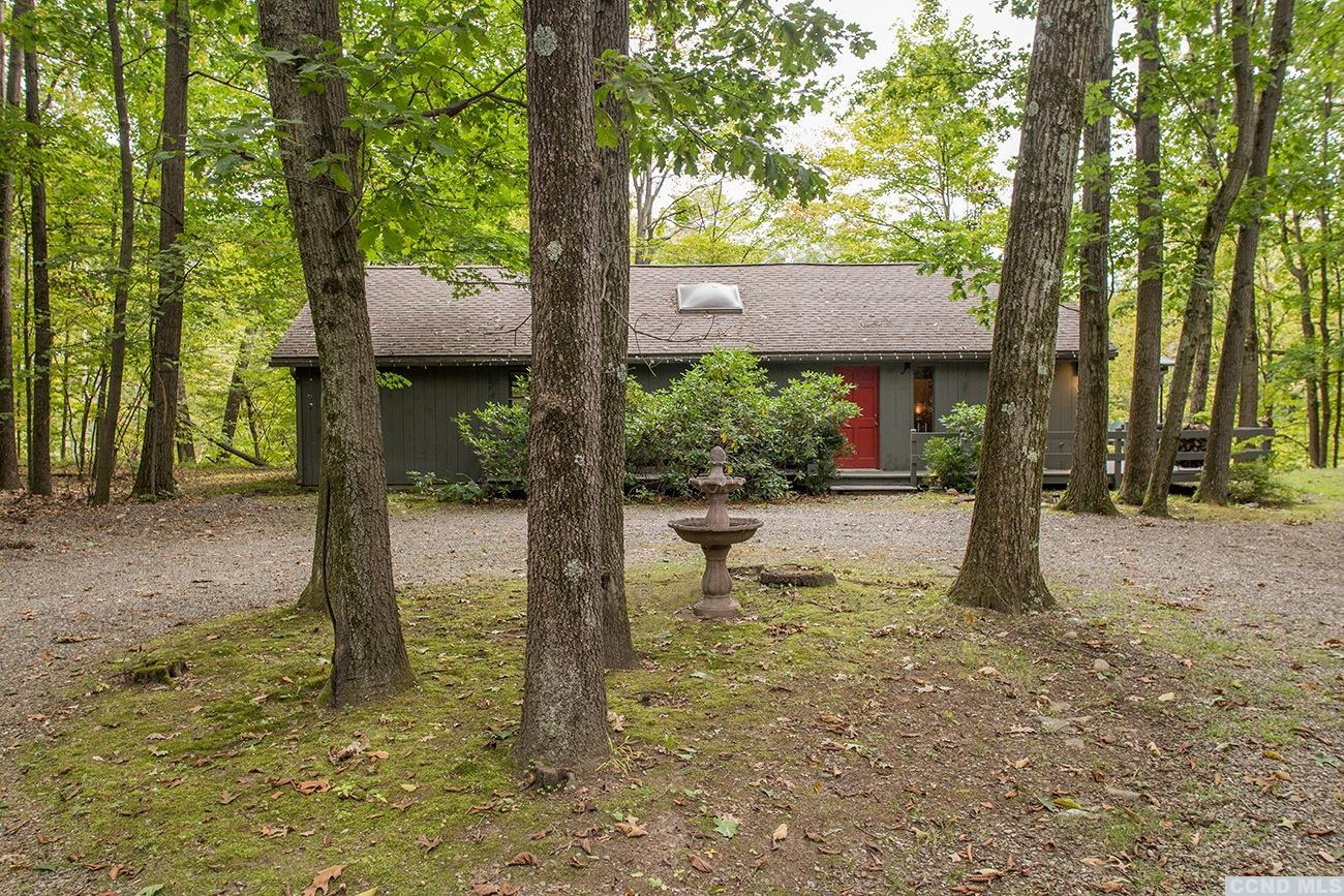 Ranch in Claverack NY with Creek, Central Air and 2 Wooded Acres