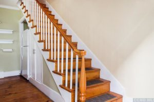 hudson ny apartment, staircase, wood floors