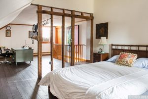 bungalow, second floor, bedroom, workspace, wood floors, nicole vidor, real estate, realtor